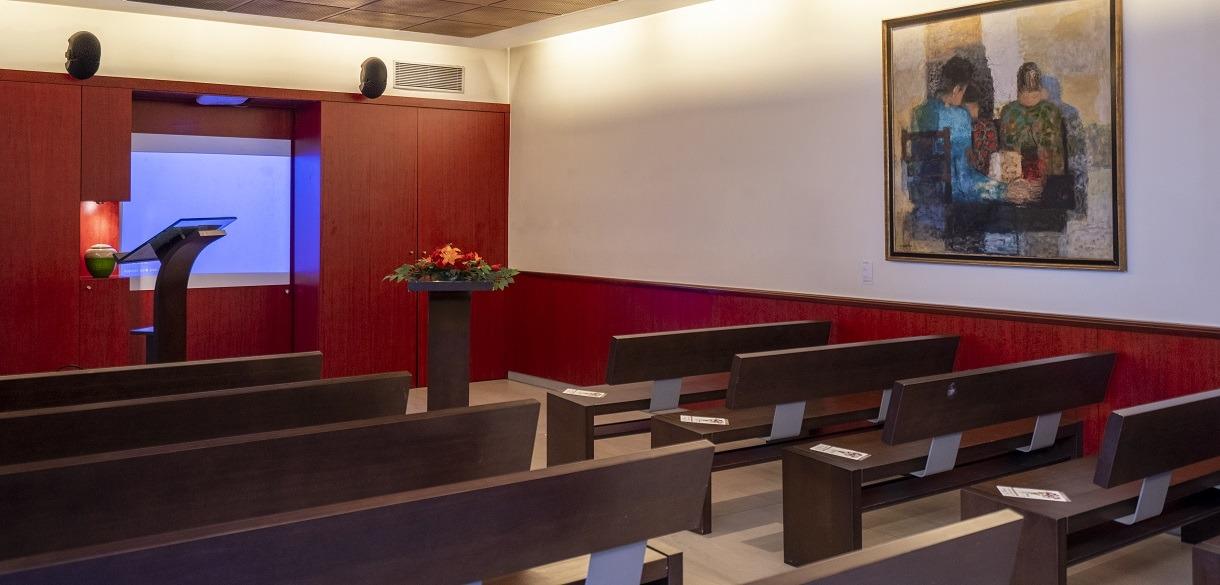Salle Bigot - Crématorium du Père-Lachaise
