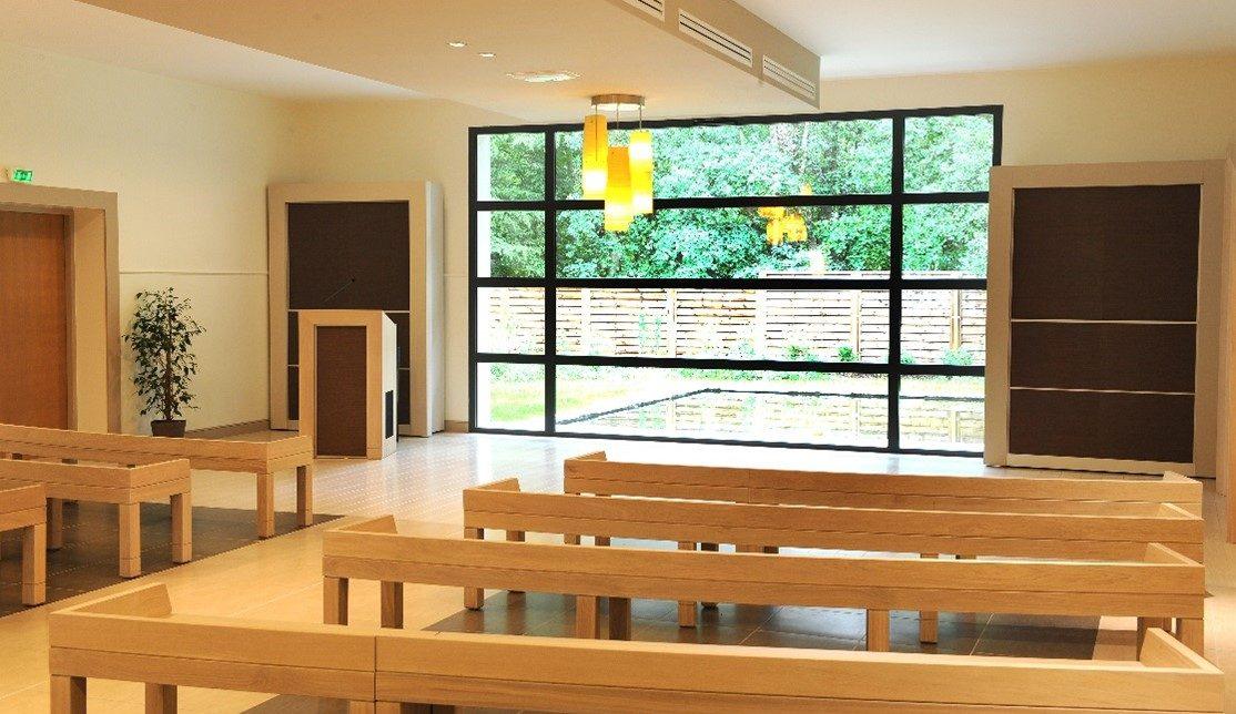 Crematorium des Yvelines - Salle de ceremonie - La Societe des Crematoriums de France