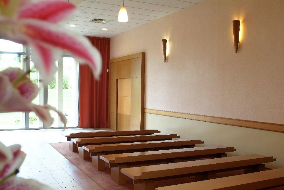 Crematorium du Val d'Oise - Salle de recueillement - La Societe des Crematoriums de France