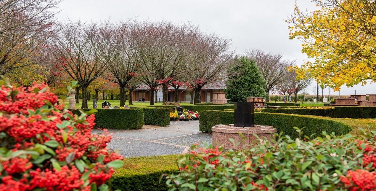 Jardin du souvenir - Crématorium de Tergnier - La Société des Crématoriums de France