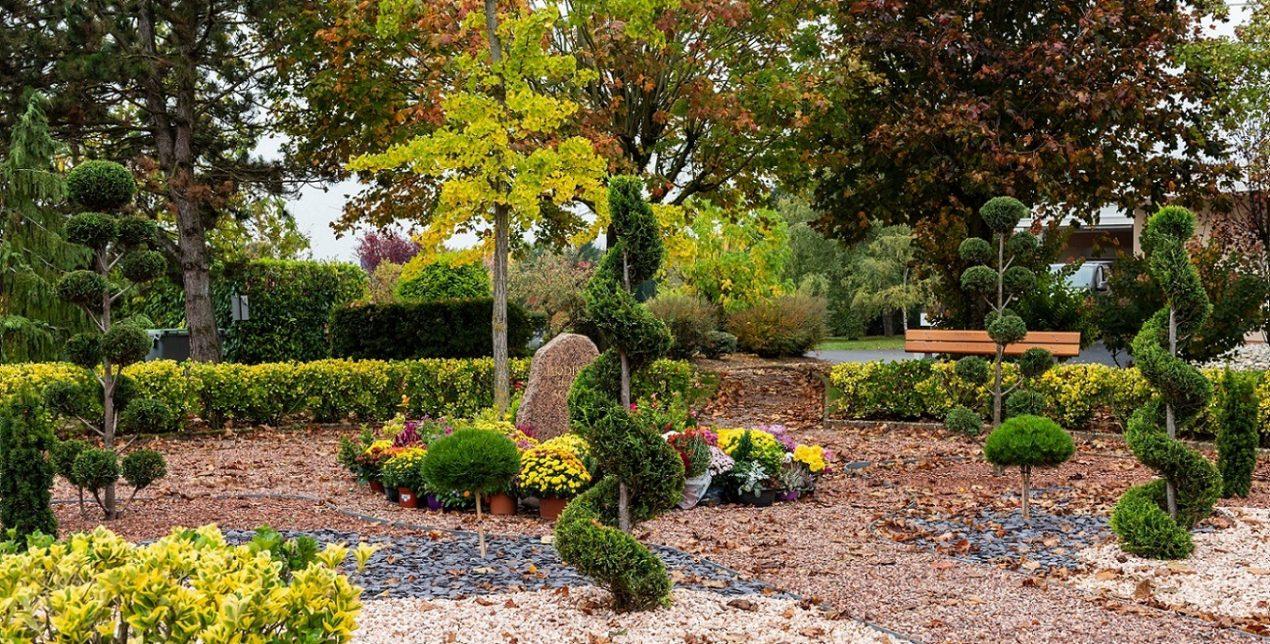 Jardin du souvenir - Crématorium de Troyes - La Société des Crématoriums de France