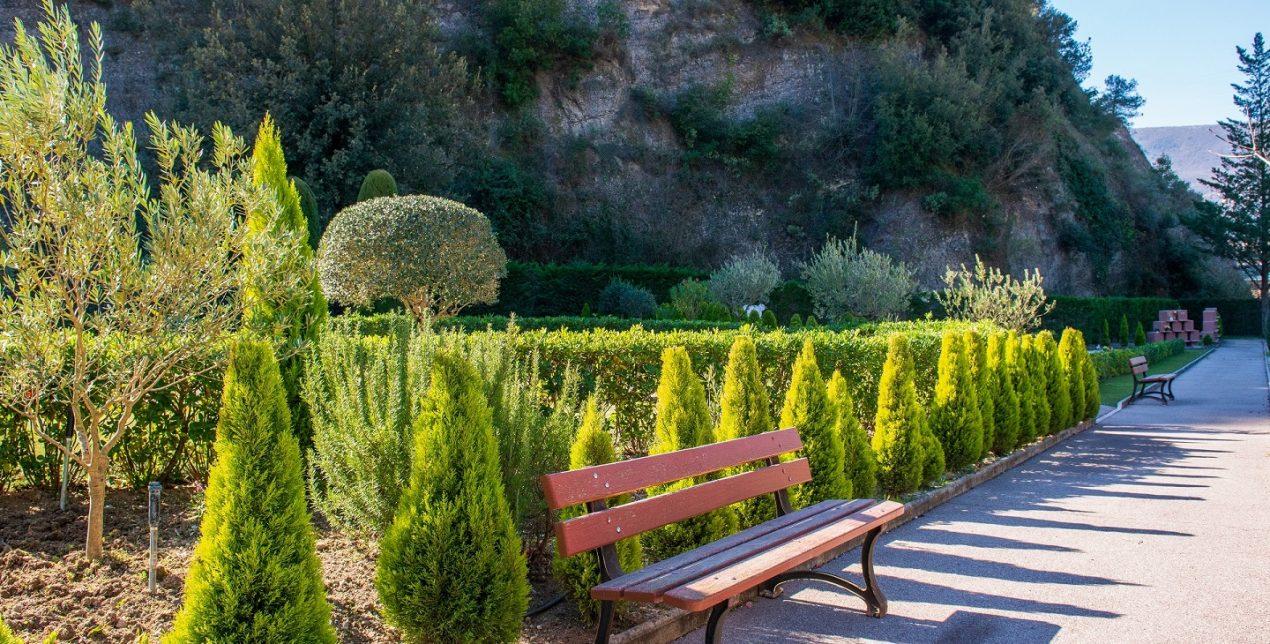Photo du Jardin du Souvenir du Crématorium de Nice Côte d'Azur