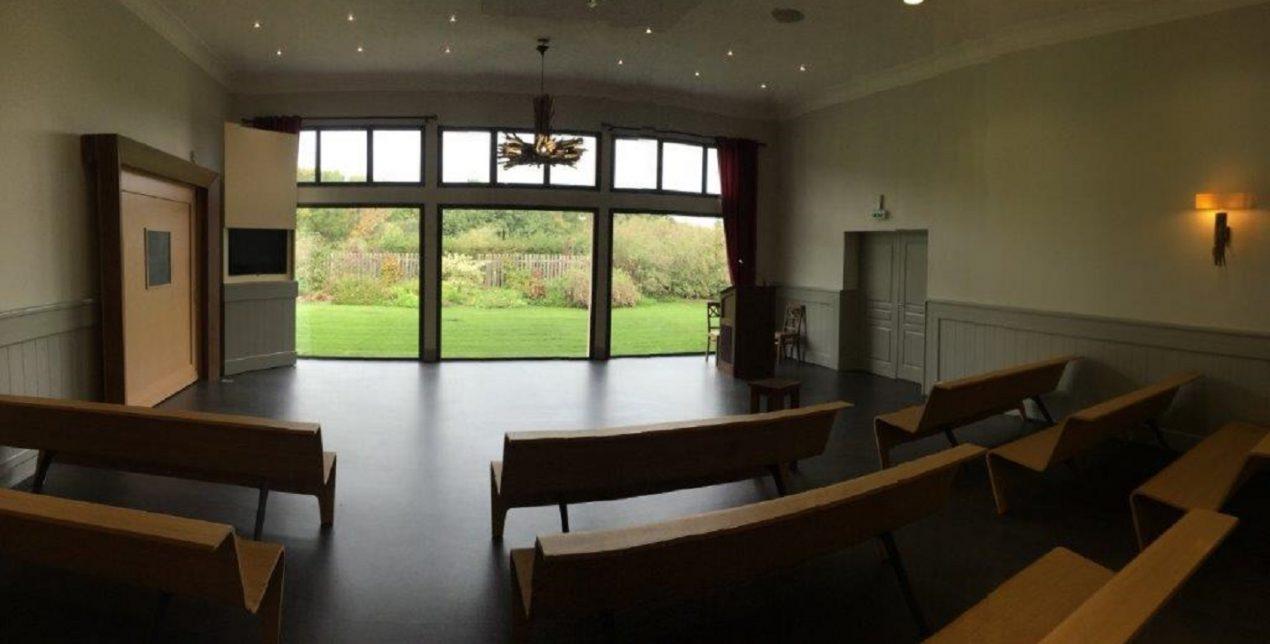 Photo de la salle de cérémonie du Crématorium de Vannes