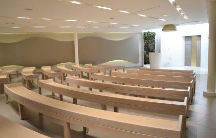 Salle de cérémonie - Crématorium Annecy - La Société des Crématoriums de France