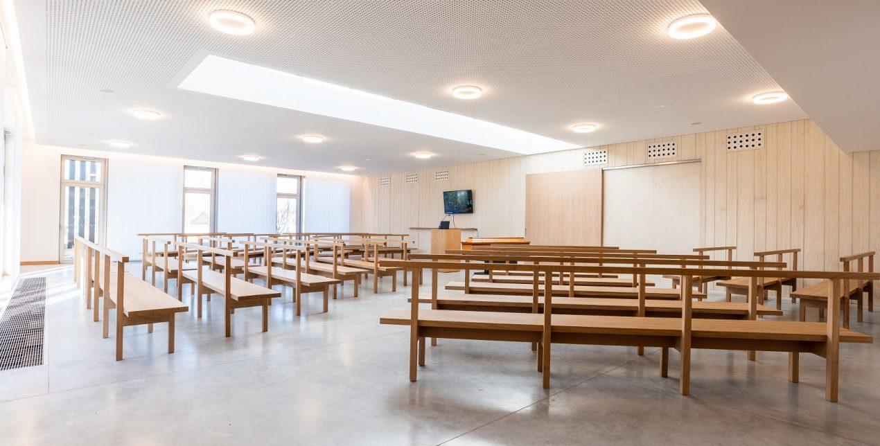 Salle de cérémonie - Crématorium Rouen Petit-Quevilly - La Société des Crématoriums de France