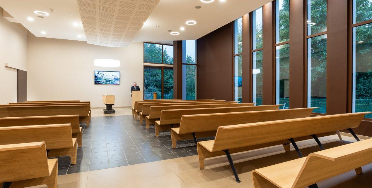 Salle de cérémonie - Crématorium de Troyes - La Société des Crématoriums de France