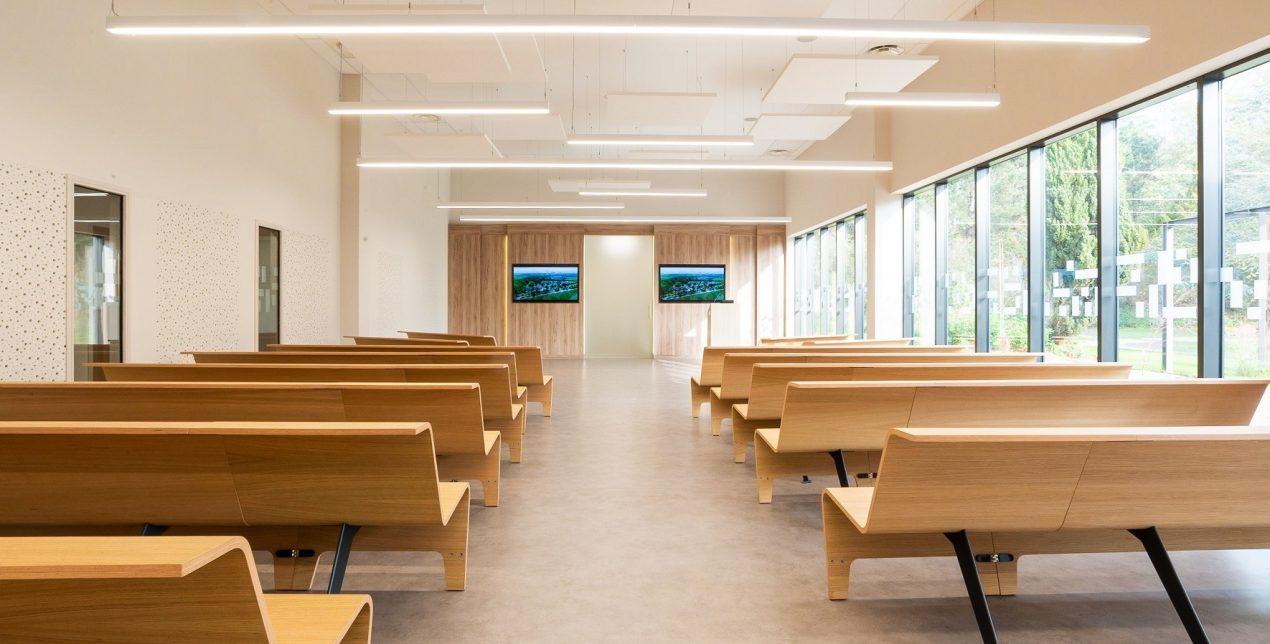 Salle de recueillement - Crématorium Hénin-Beaumont - La Société des Crématoriums de France
