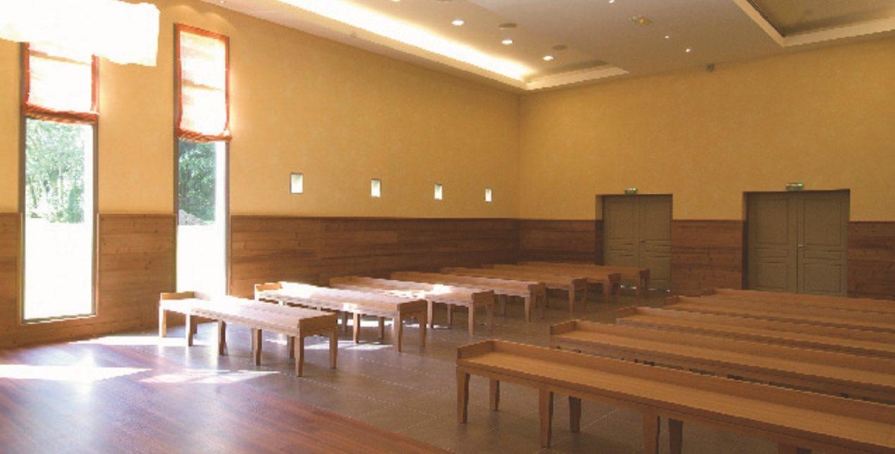 Salle de recueillement - Crématorium de Metz - La Société des Crématoriums de France
