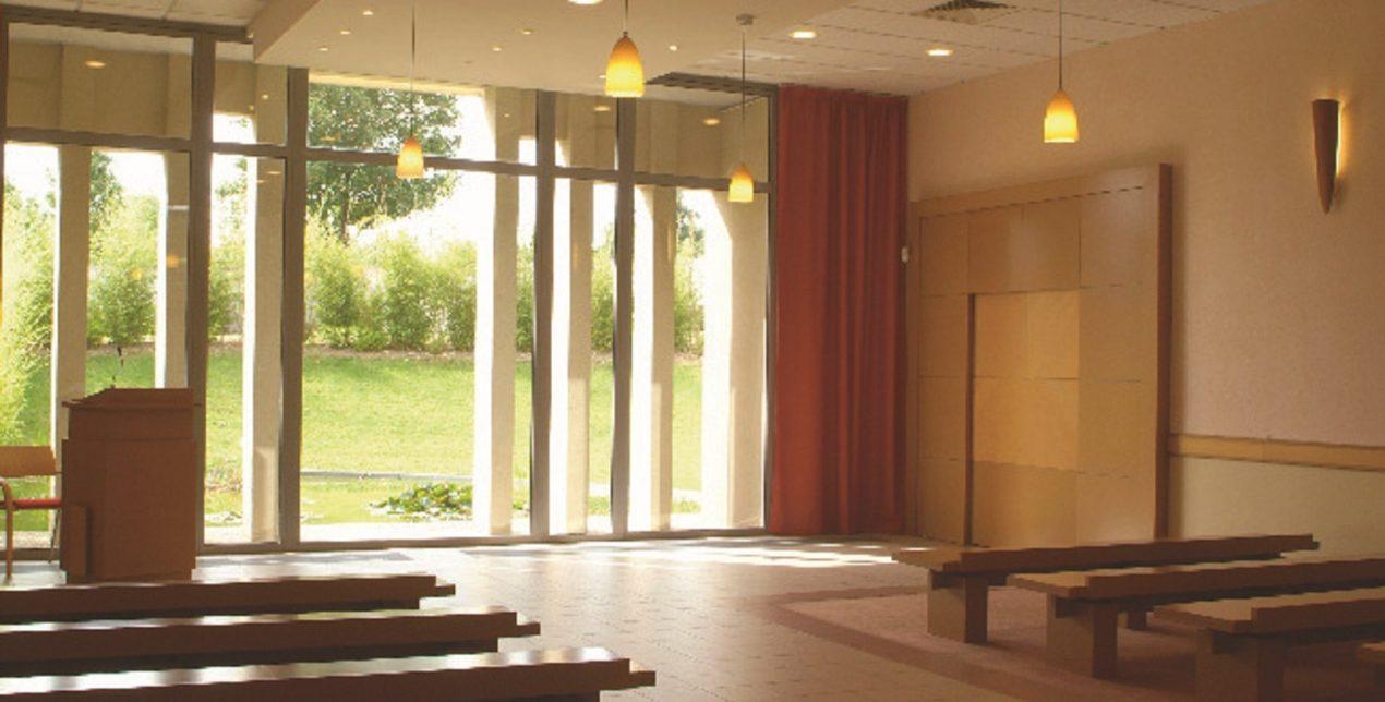 Salle de recueillement - Crématorium de Saint-Ouen-l'Aumône - La Société des Crématoriums de France