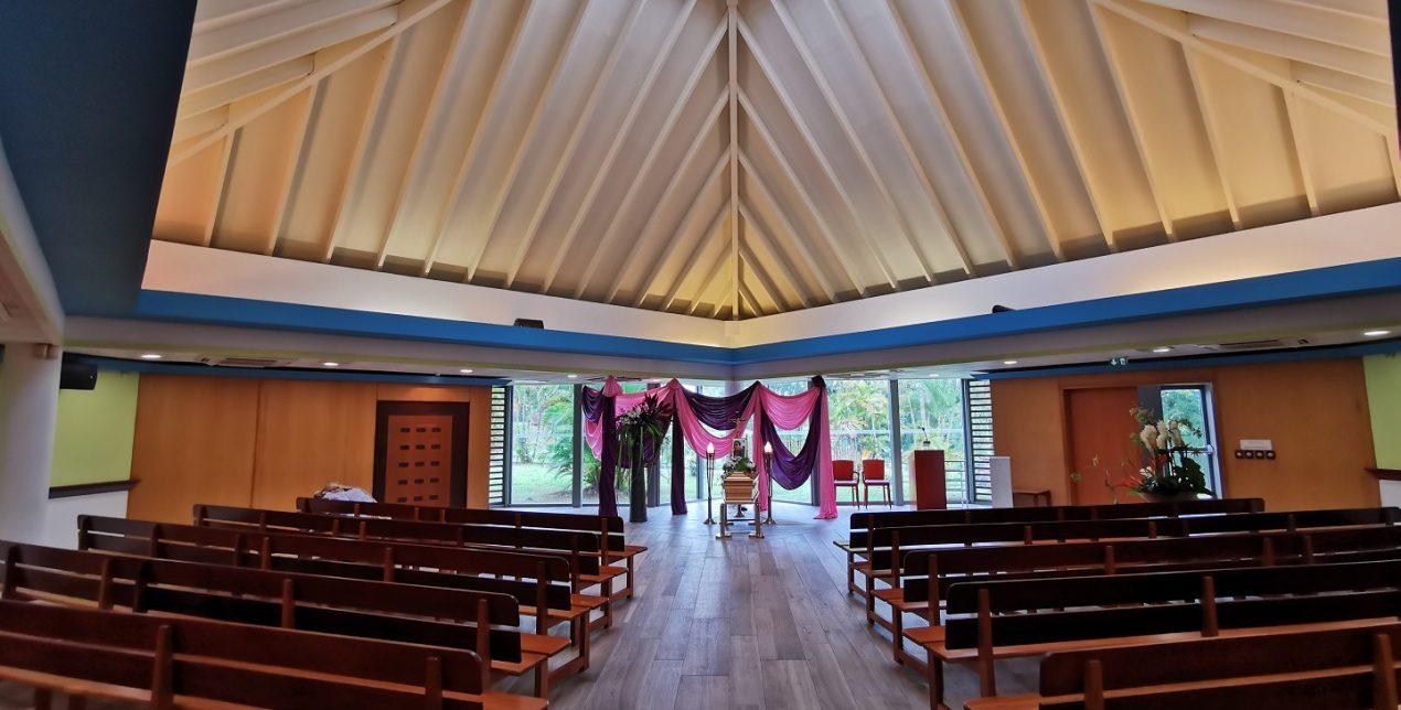 Salle de recueillement - Crématorium de la Martinique - La Société des Crématoriums de France