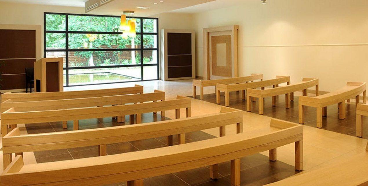 Salle de recueillement - Crématorium des Mureaux - La Société des Crématoriums de France